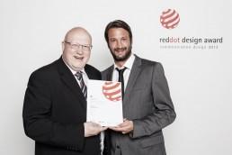 Preisverleihung RedDot Award in Berlin HOERBIGER Holding, GAXWEB Werbeagentur und Internetagentur aus Karlsruhe
