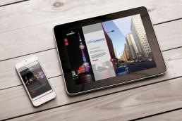 Mobilephone und Tablet- RedDot Award HOERBIGER Holding, GAXWEB Werbeagentur und Internetagentur aus Karlsruhe