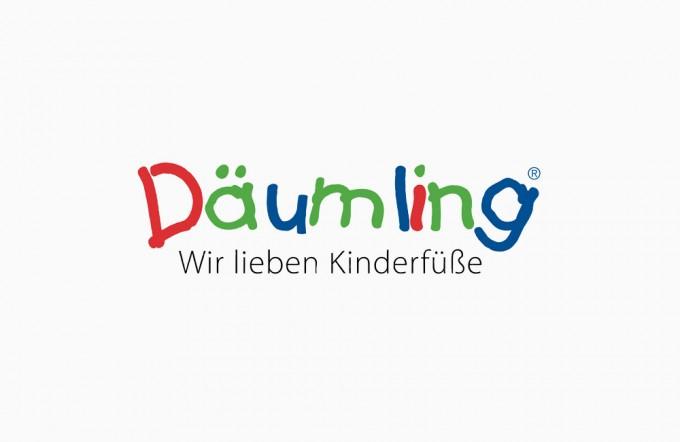 däumling kinderschuhe logo Onlineshop System Händlerintegration, GAXWEB Werbeagentur und Internetagentur in Karlsruhe