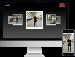 HOERBIGER WIENeu Webseite, Webdesign und Webentwicklung, GAXWEB Werbeagentur und Internetagentur in Karlsruhe
