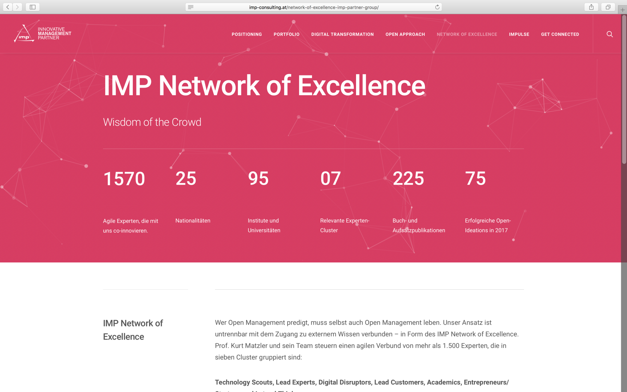 IMP Consulting Network of Excellence