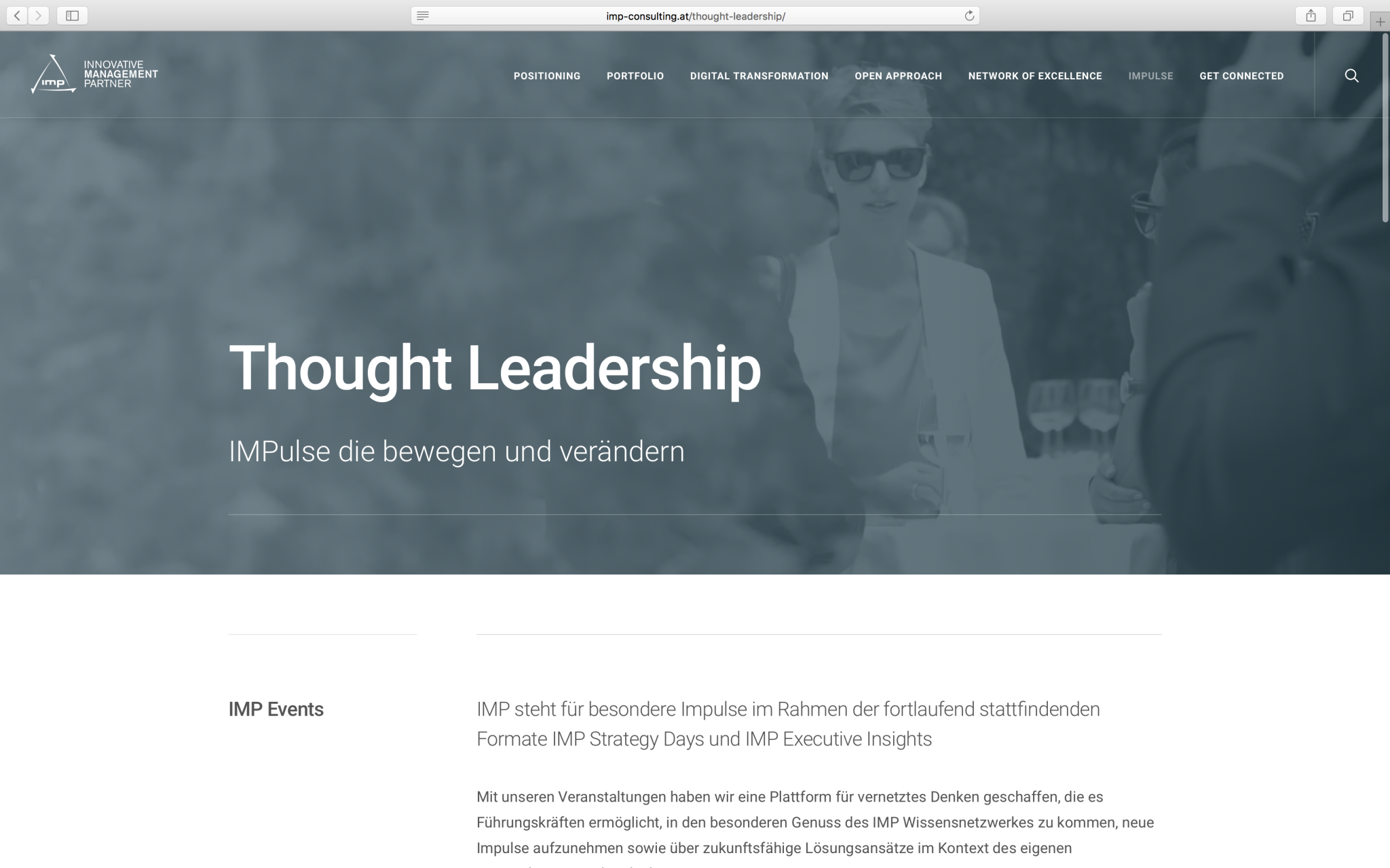 IMP Consulting Thought Leadership