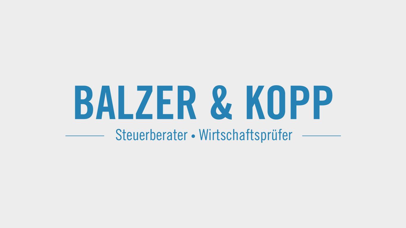 Steuerberater Balzer Kopp Wirtschaftsprüfer Logo